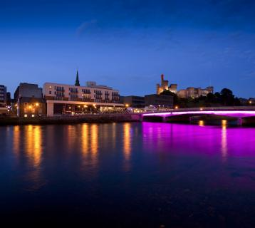 Inverness after dark