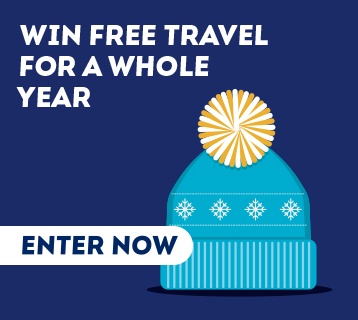 Win free travel for a whole year