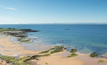 Image: Looking over West Bay towards Elie and Earlsferry. Credit: Image used with permission from VisitScotland and Scottish Viewpoint.