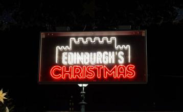 Blog - festive day trip to Edinburgh
