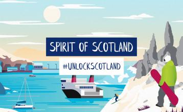 Spirit of Scotland winter sale December blog main image