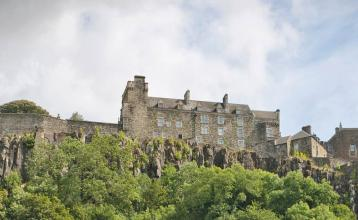 Image: Stirling Castle. Credit: Image republished with kind permission of Destination Stirling.