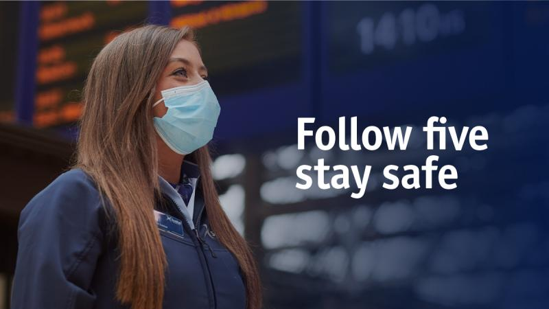 Follow five stay safe